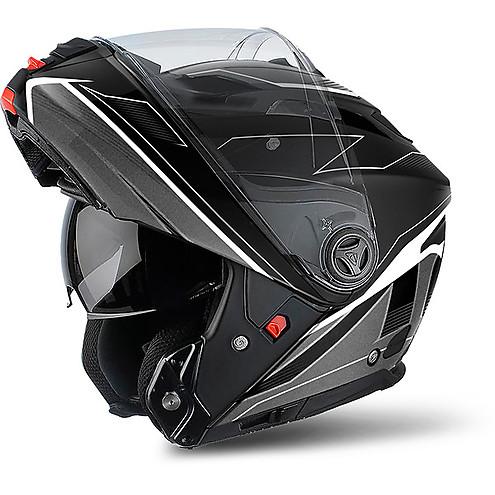 55f91922b2abc Casco Moto Modulare Airoh Phantom S Spirit Nero Opaco